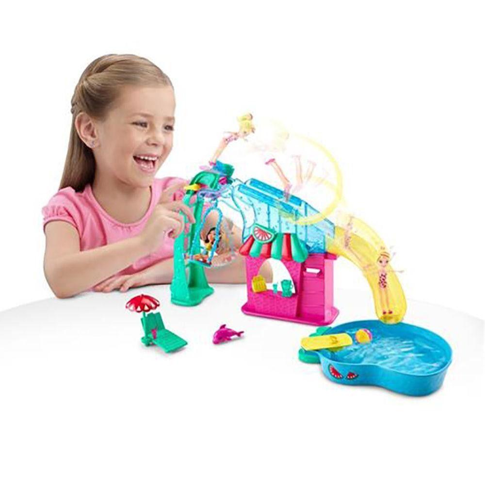 Boneca Polly Pocket Parque Aquático de Frutas - Mattel