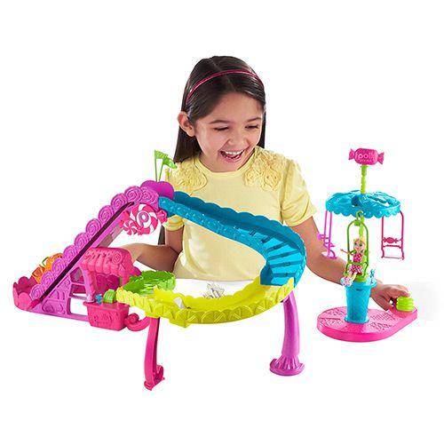 Boneca Polly Pocket Parque de Diversões Montanha Russa - Mattel
