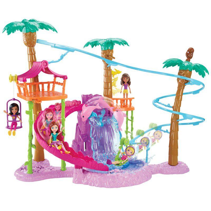 Boneca Polly Pocket Tirolesa na Floresta - Mattel