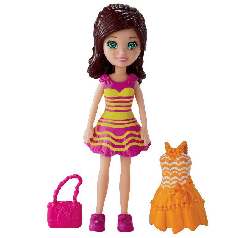 Boneca Polly Pocket Vestidiho - Mattel