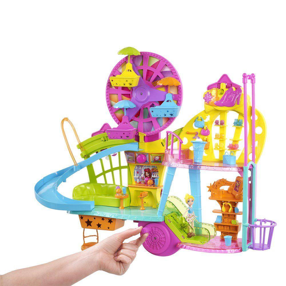 Boneca Polly Pocket Wall Party Centro Comercial - Mattel