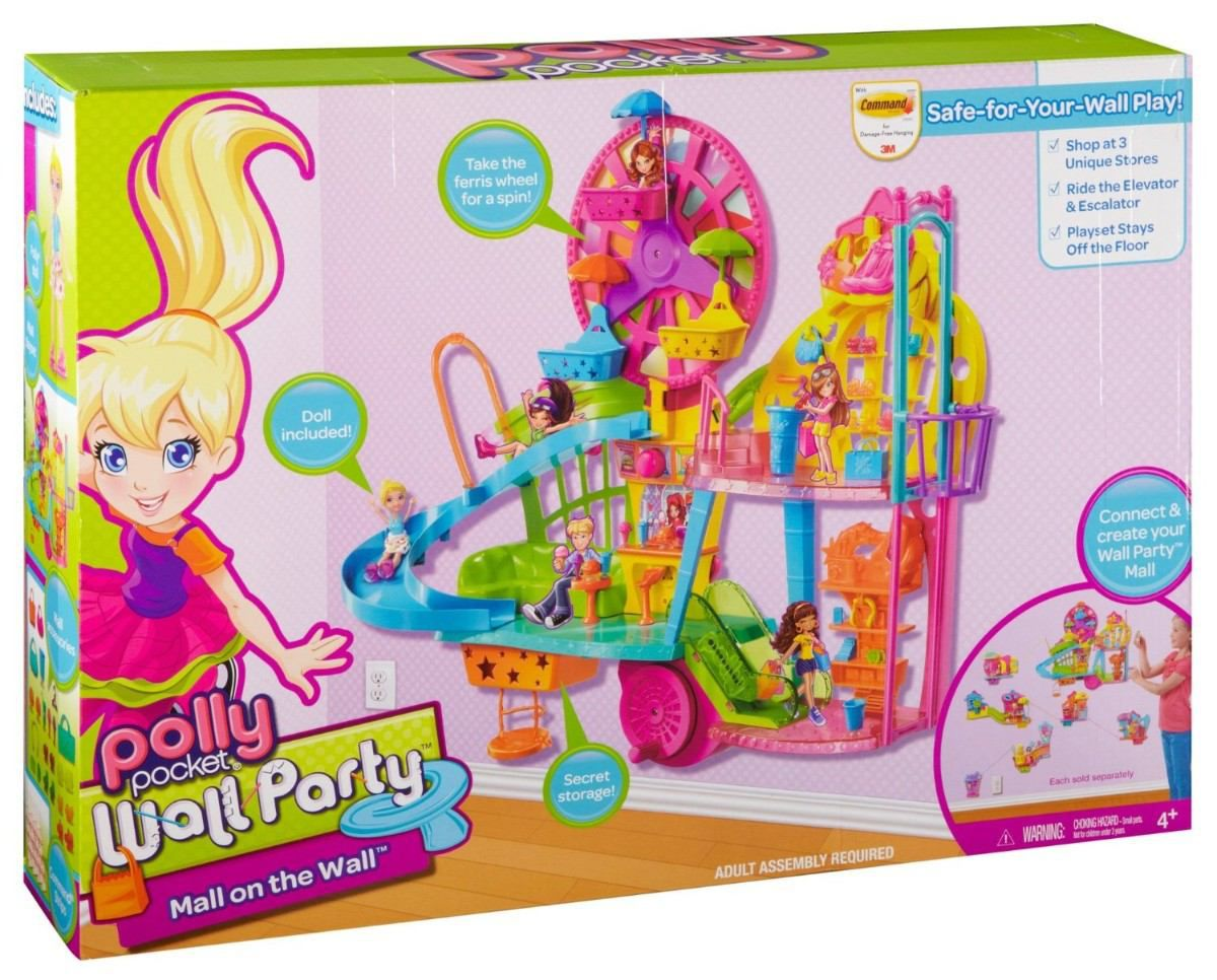 Boneca Polly Pocket Wall Party Centro Comercial - Mattel