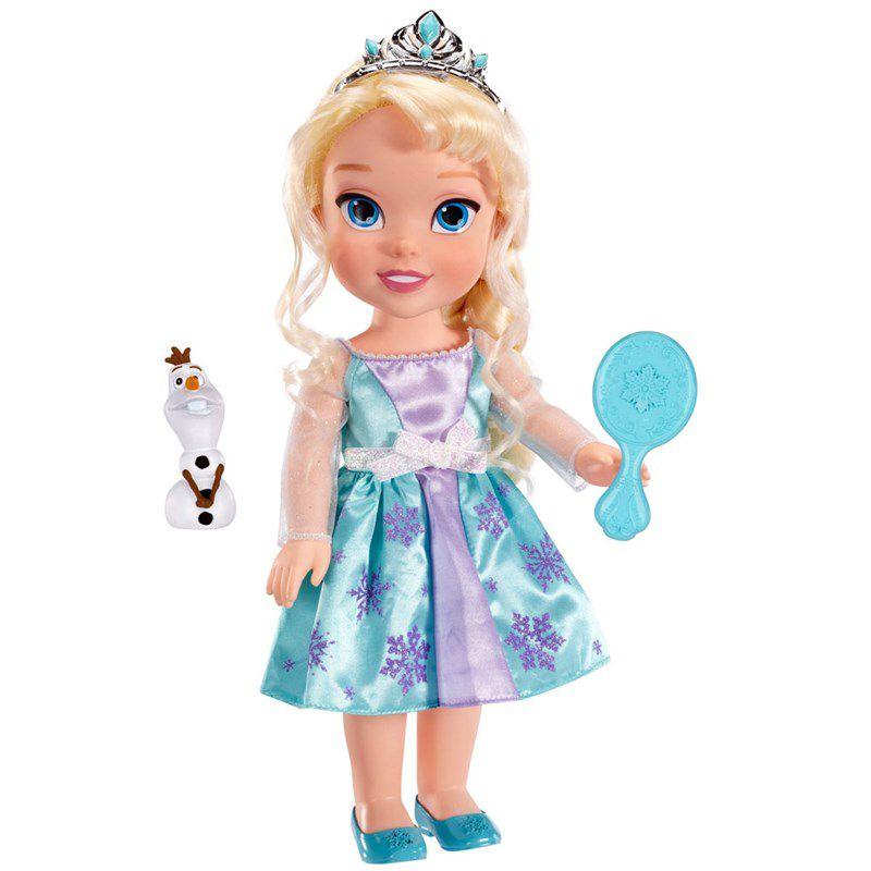 Boneca Princesa Elsa 38 Centímetros Disney Frozen - Sunny