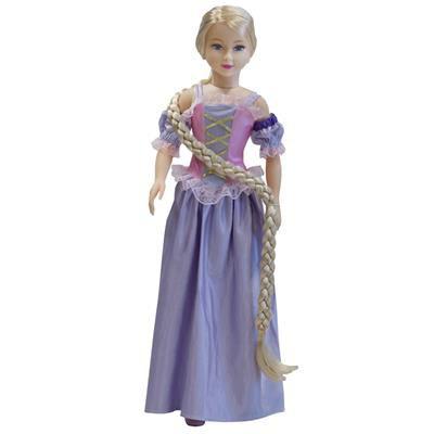 Boneca Stephany Conto de Fadas Rapunzel - Baby Brink