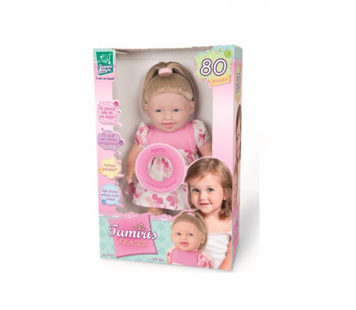 Boneca Tamiris 80 Frases - Super Toys