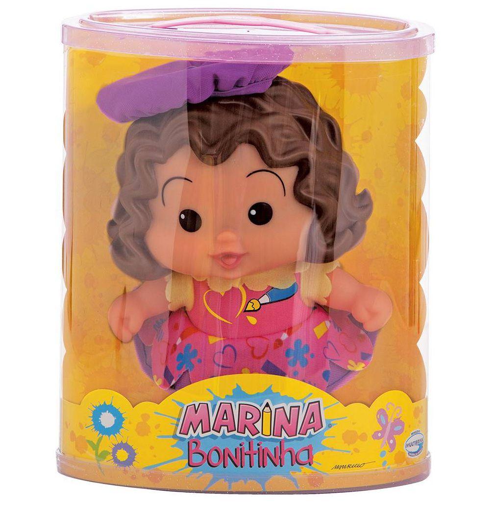 Boneca Turma da Mônica Marina Bonitinha - Multibrink