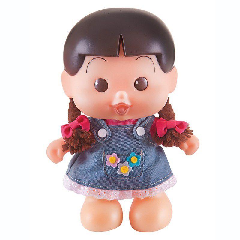 Boneca Turma da Mônica Rosinha Bonitinha - Multibrink