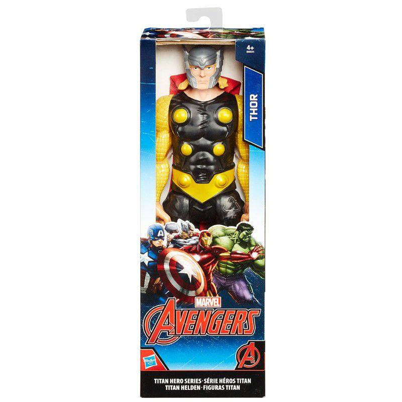 Boneco Articulado Titan Hero Series Marvel Avengers Thor 30cm - Hasbro