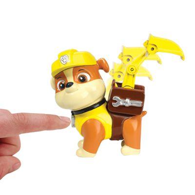 Boneco com Distintivo Patrulha Canina Rubble - Sunny