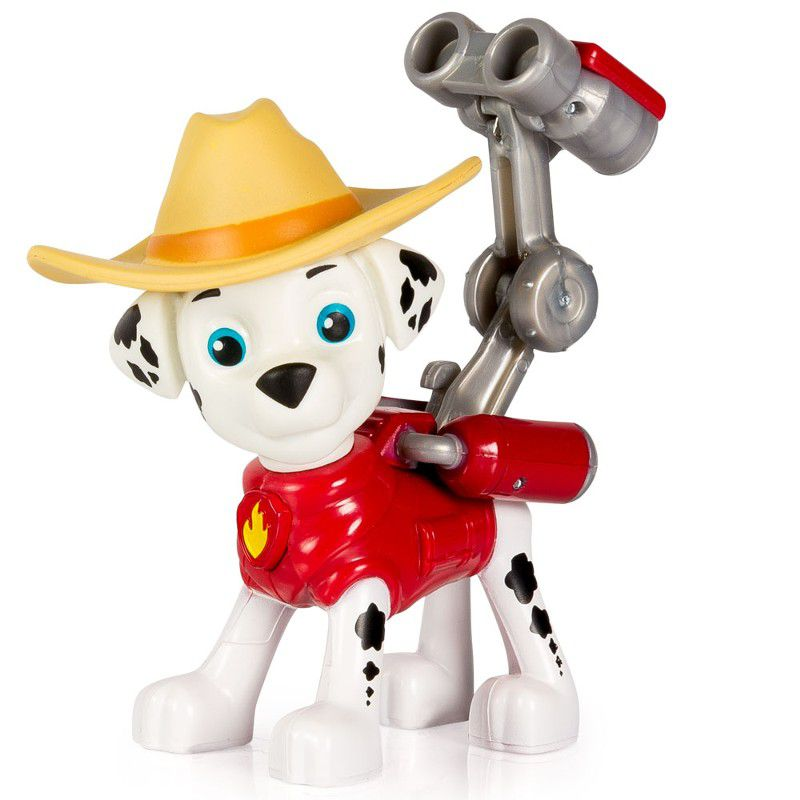 Boneco com Mecanismo Patrulha Canina Marshall Cowboy - Sunny