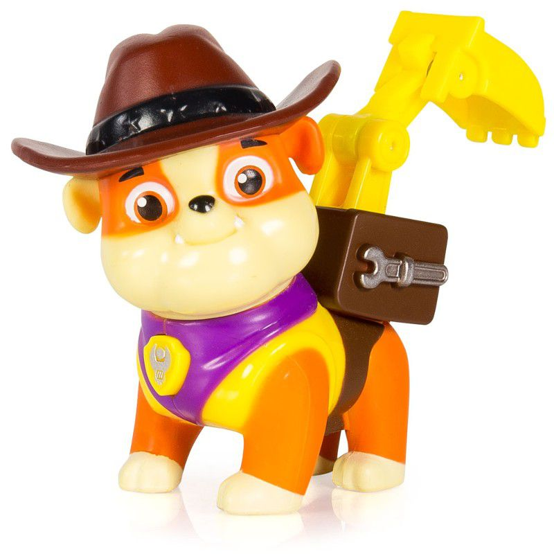Boneco com Mecanismo Patrulha Canina Rubble Cowboy - Sunny