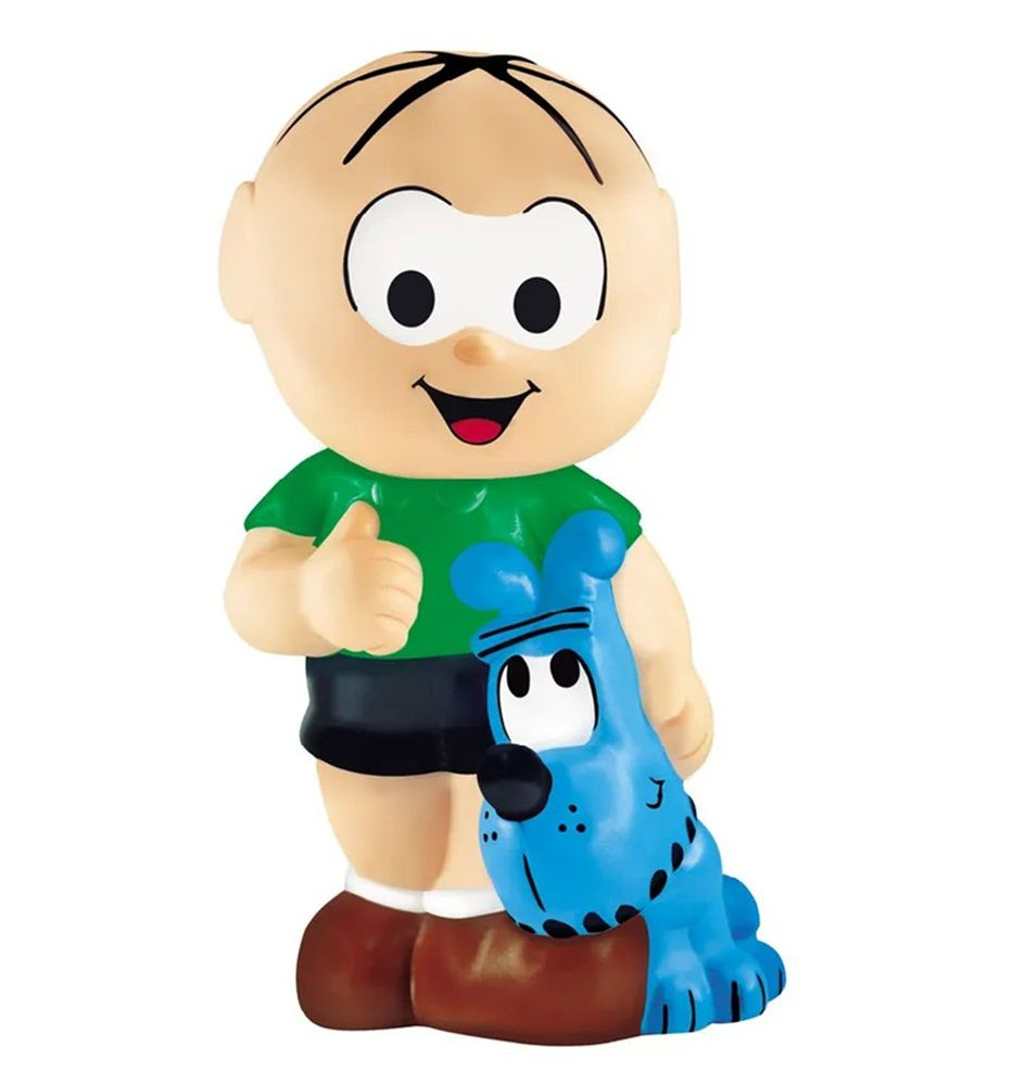 Boneco de Vinil Turma da Mônica - Lider Brinquedos