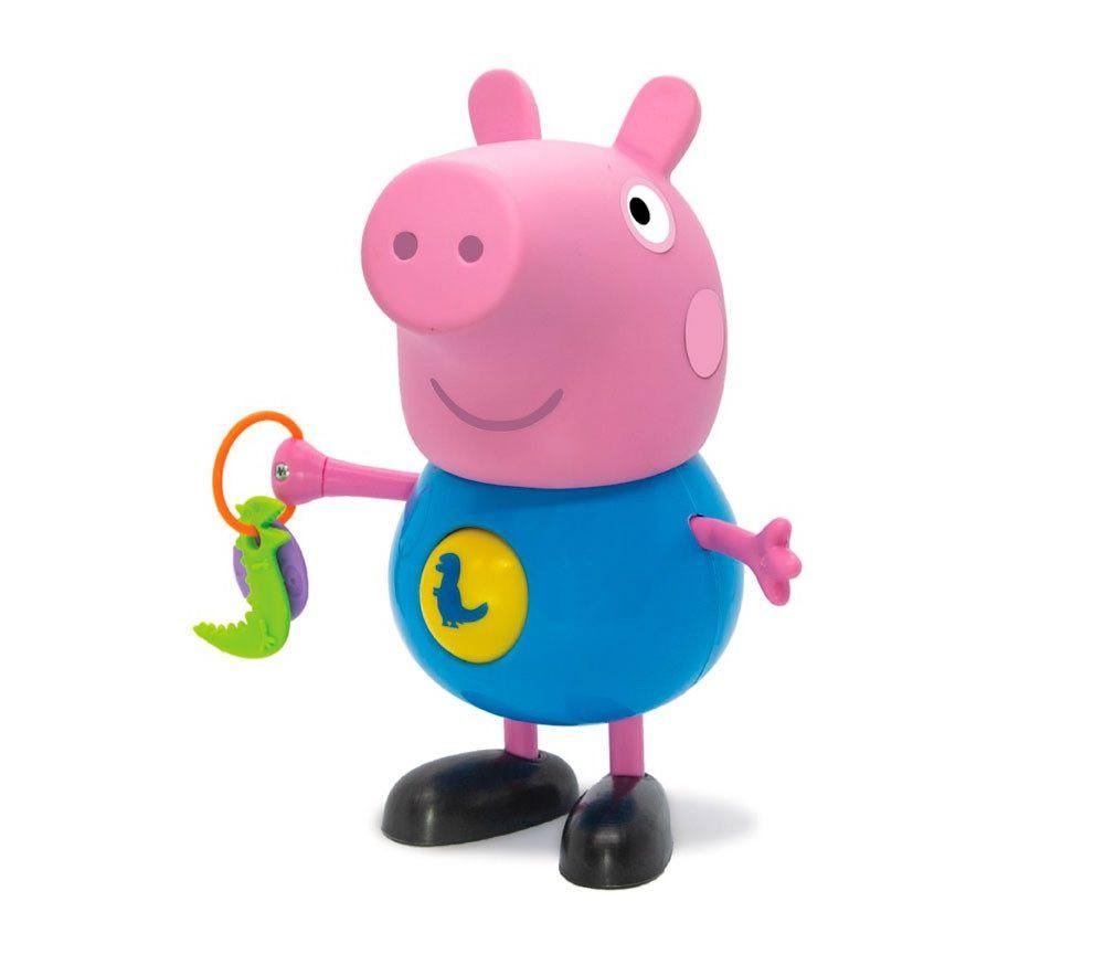 Boneco George Peppa Pig com Atividades - Elka