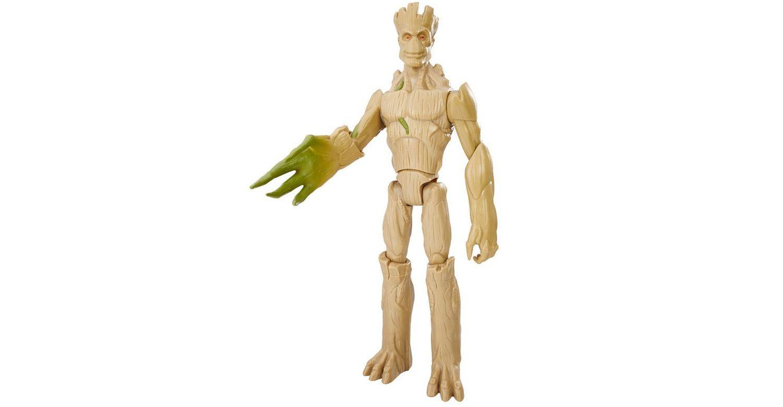Boneco Guardians Galaxi Groot Extensível - Hasbro
