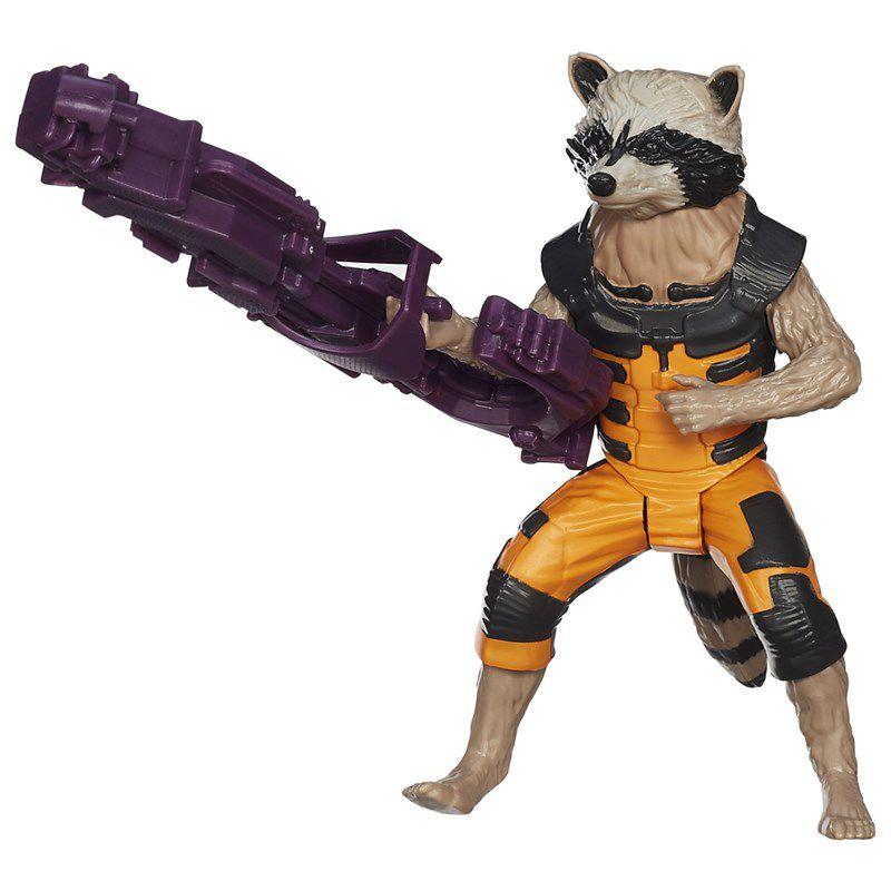 Boneco Guardiões da Galáxia Titan Hero Rocket Raccoon - Hasbro