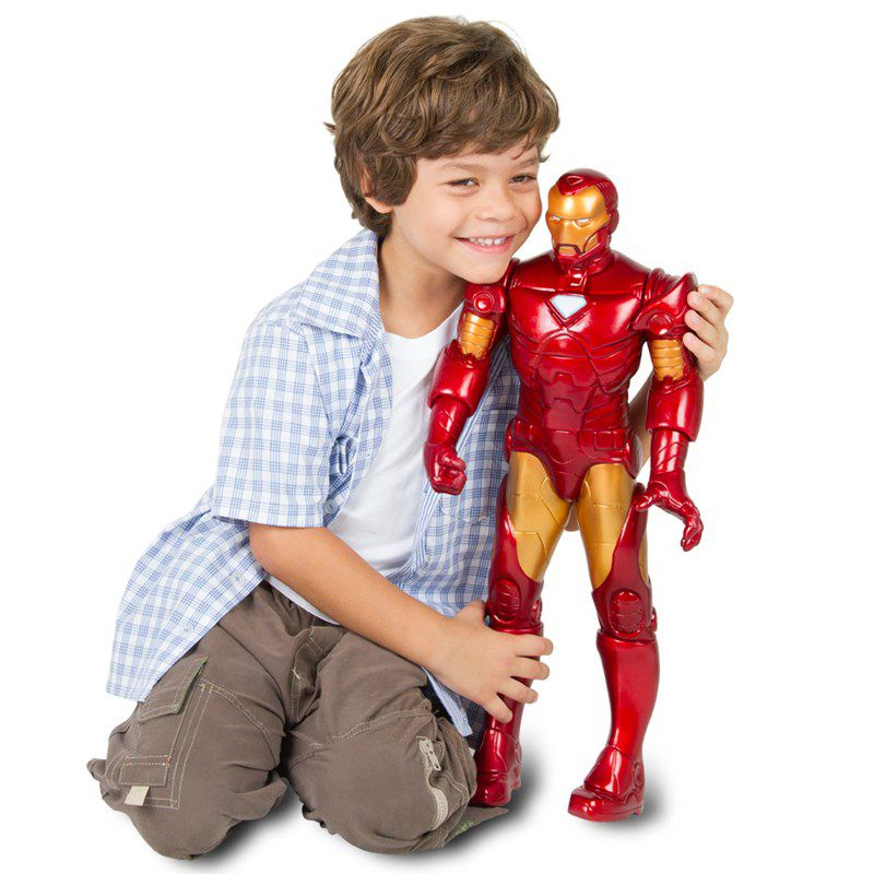 Boneco Iron Man Premium Marvel Gigante - Mimo