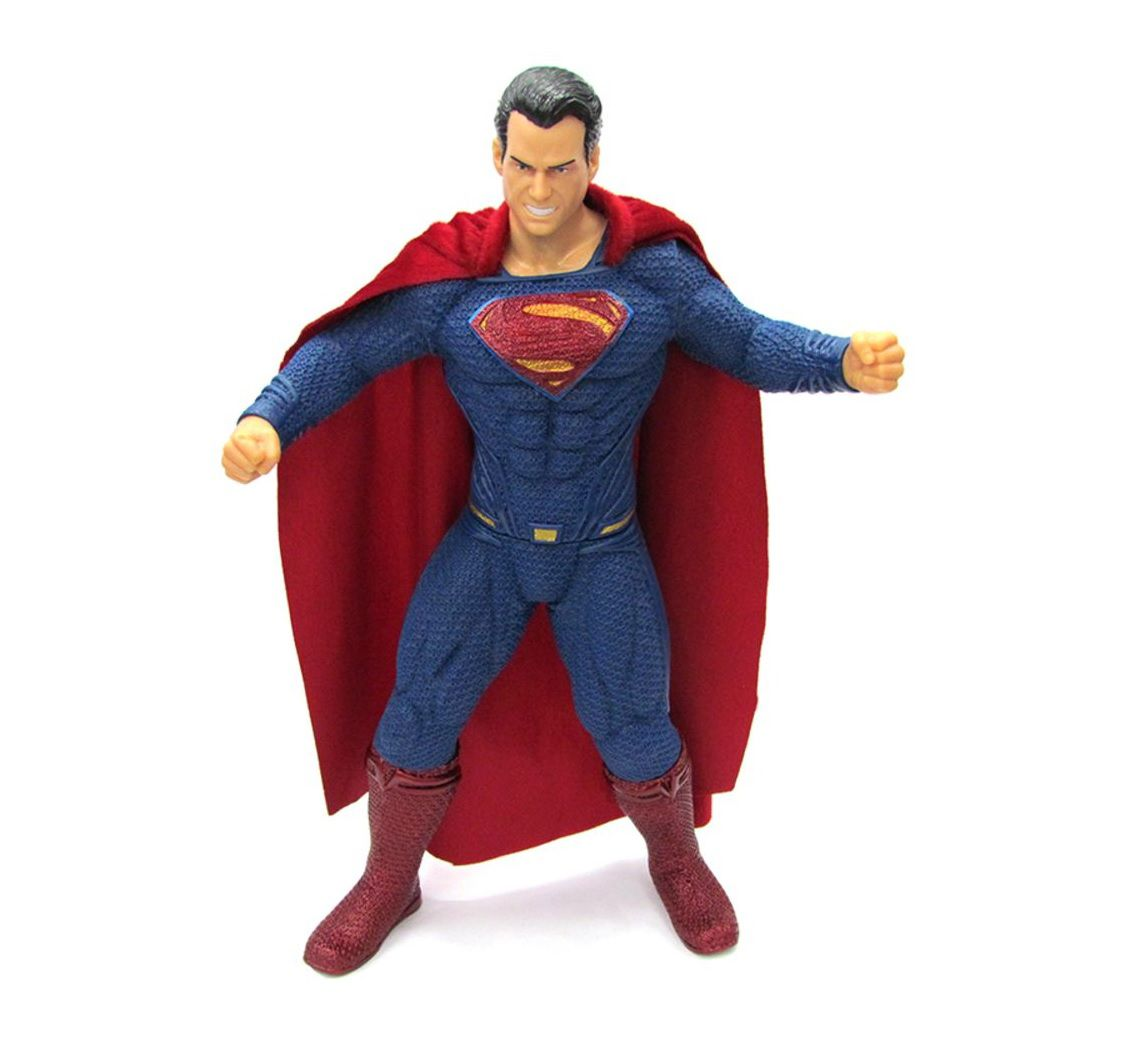 Boneco Articulado Justice League Superman Grande - MIMO
