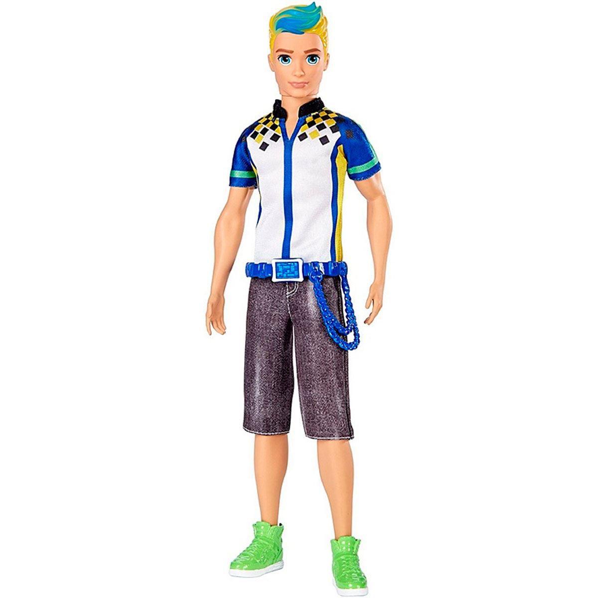 Boneco Ken Em Um Mundo de Vídeo Game - Mattel