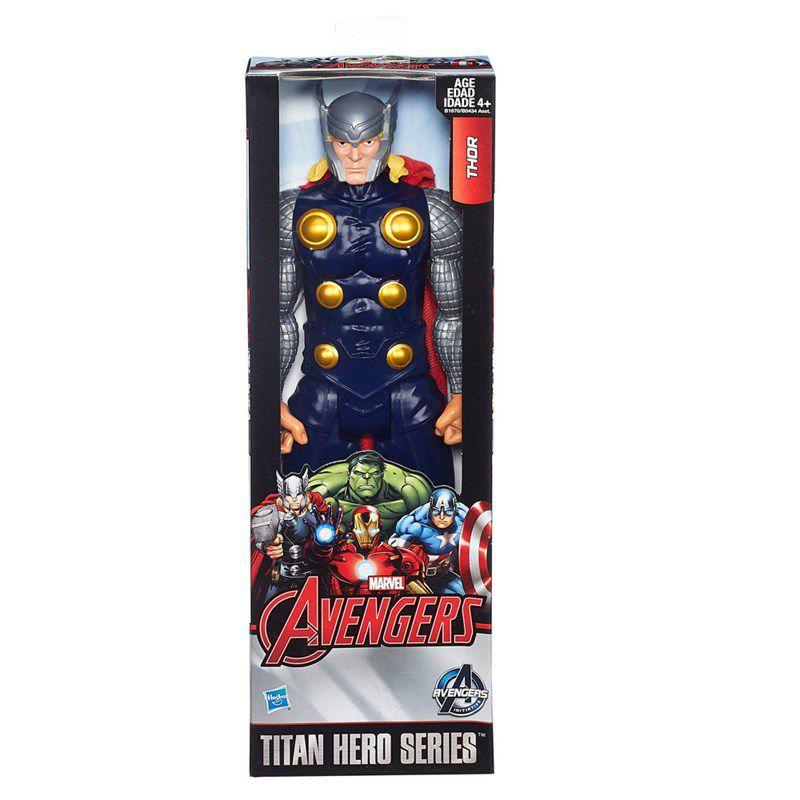 Boneco Marvel Avengers Titan Hero Series 30 cm Thor - Hasbro