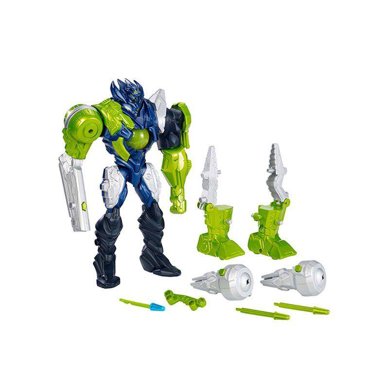 Boneco Max Steel Makino Armadura de Ataque - Mattel