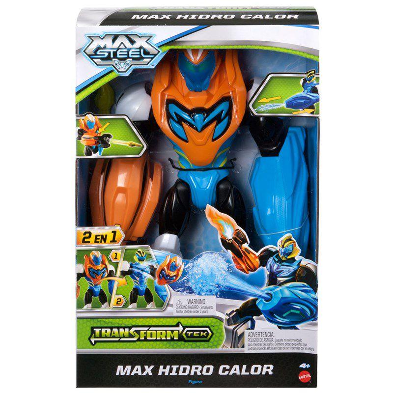 Boneco Max Steel Max Turbo Fogo - Mattel