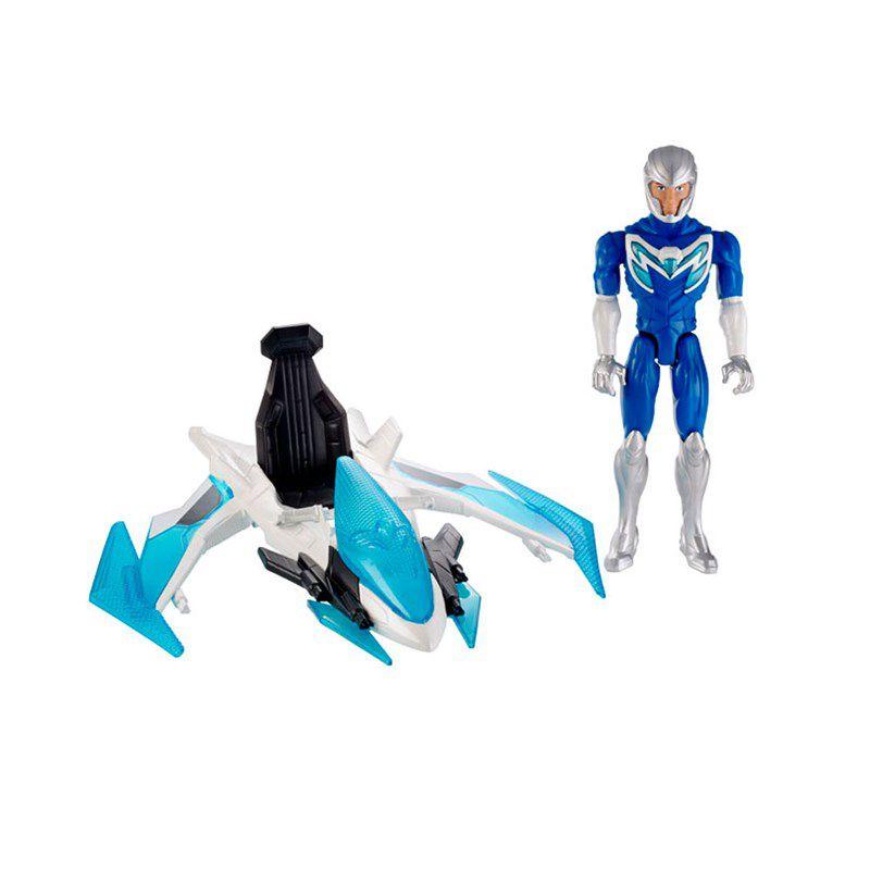 Boneco Max Steel Max Turbo Jato com Veículo - Mattel