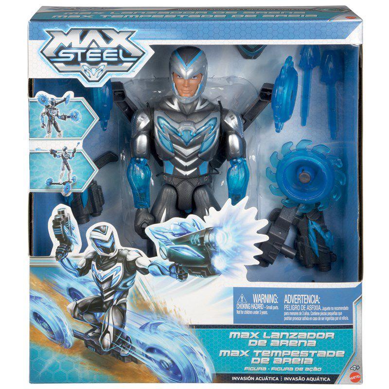 Boneco Max Steel Tempestade de Areia - Mattel