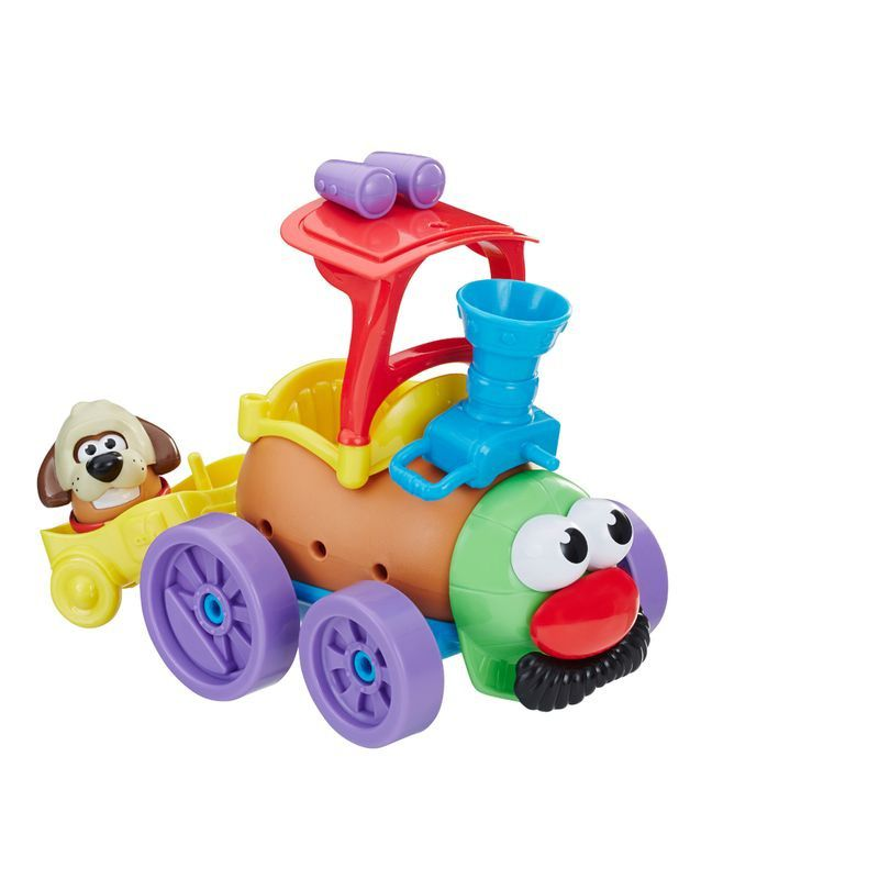 Boneco Mr Potato Head Playskool com Veículo Maluco - Hasbro