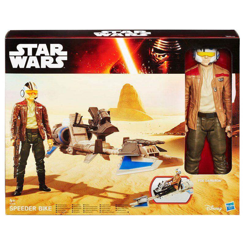 Boneco com Veículo Star Wars Edição Especial - Hasbro