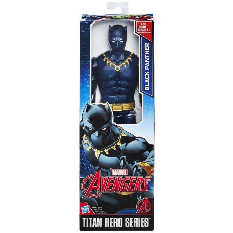 Boneco Titan Hero Series Avengers Black Panther - Hasbro