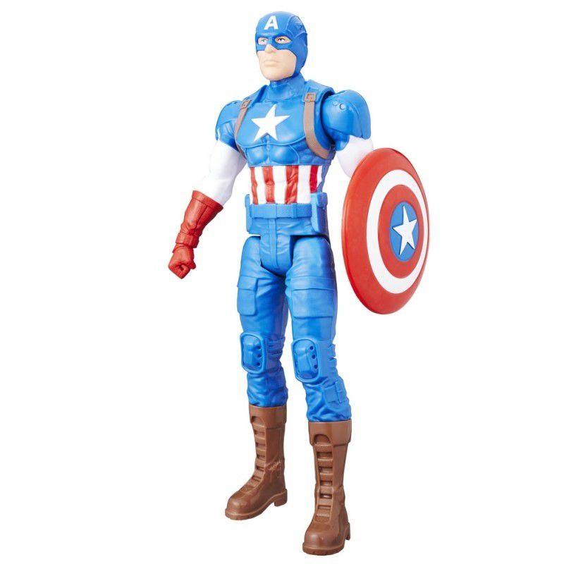 Boneco Titan Hero Series Marvel Avengers Capitão América - Hasbro