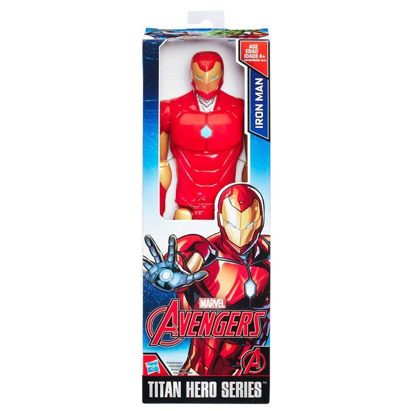 Boneco Titan Hero Series Marvel Avengers Homem de Ferro - Hasbro