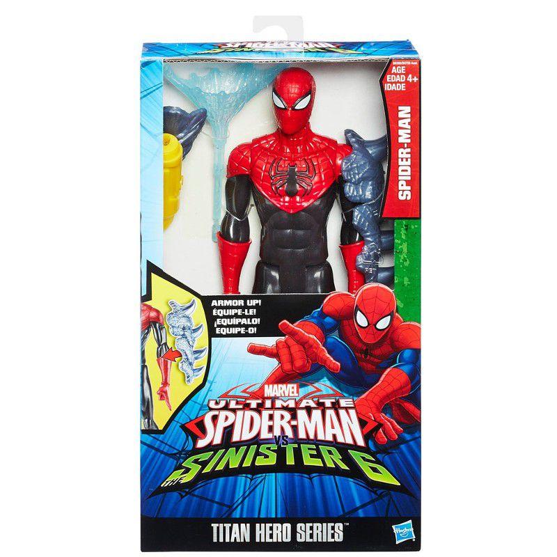 Boneco Titan Hero Series Ultimate Spider-Man Vs Sinister 6 - Hasbro