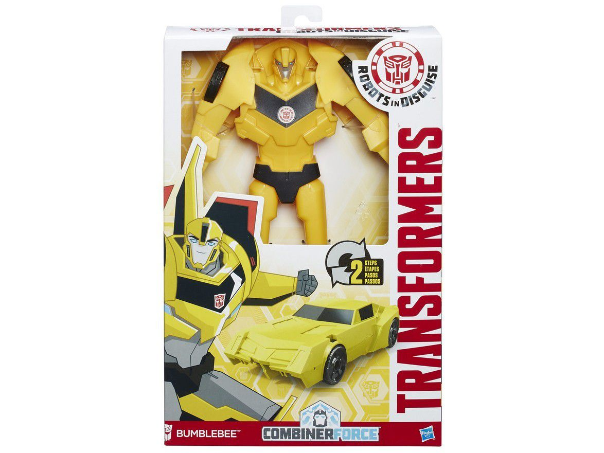 Boneco Transformers Robots in Disguise Combiner Force - Hasbro