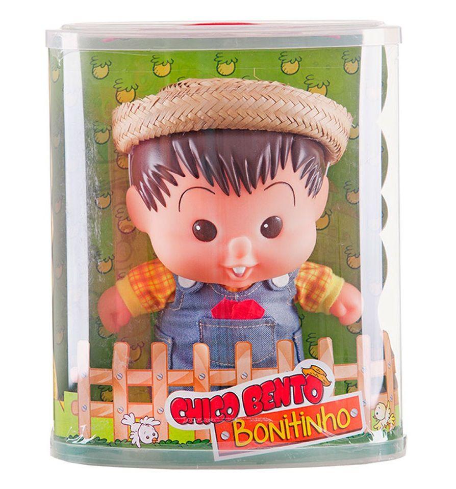 Boneco Turma da Mônica Chico Bento Bonitinho - Multibrink
