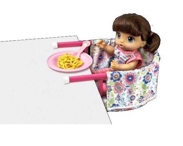 Cadeirinha de Mesa Baby Alive - Hasbro