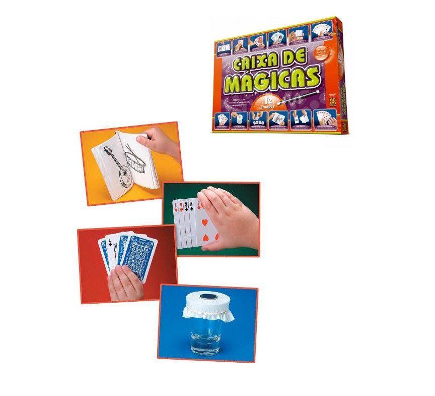 Caixa de Mágicas 12 Truques - Grow