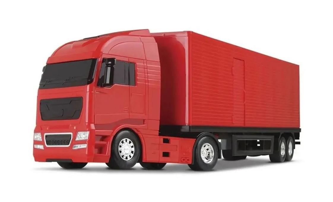 Caminhão Baú Diamond Truck - Roma Brinquedos