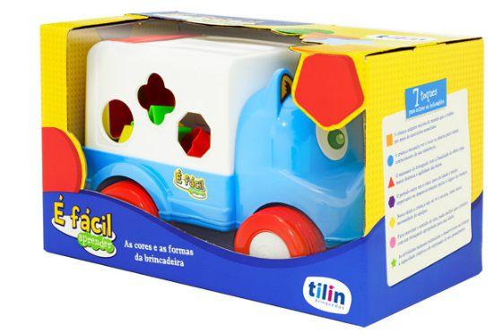 Caminhão Didático É Fácil Encaixar - Tilin