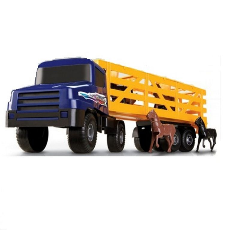 Caminhão Strada Trucks com Cavalos - Silmar Brinquedos
