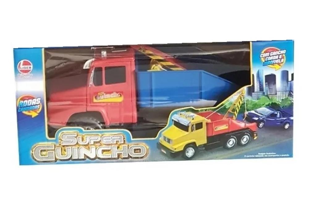 Caminhão Super Guincho Sortidos - Lider Brinquedos