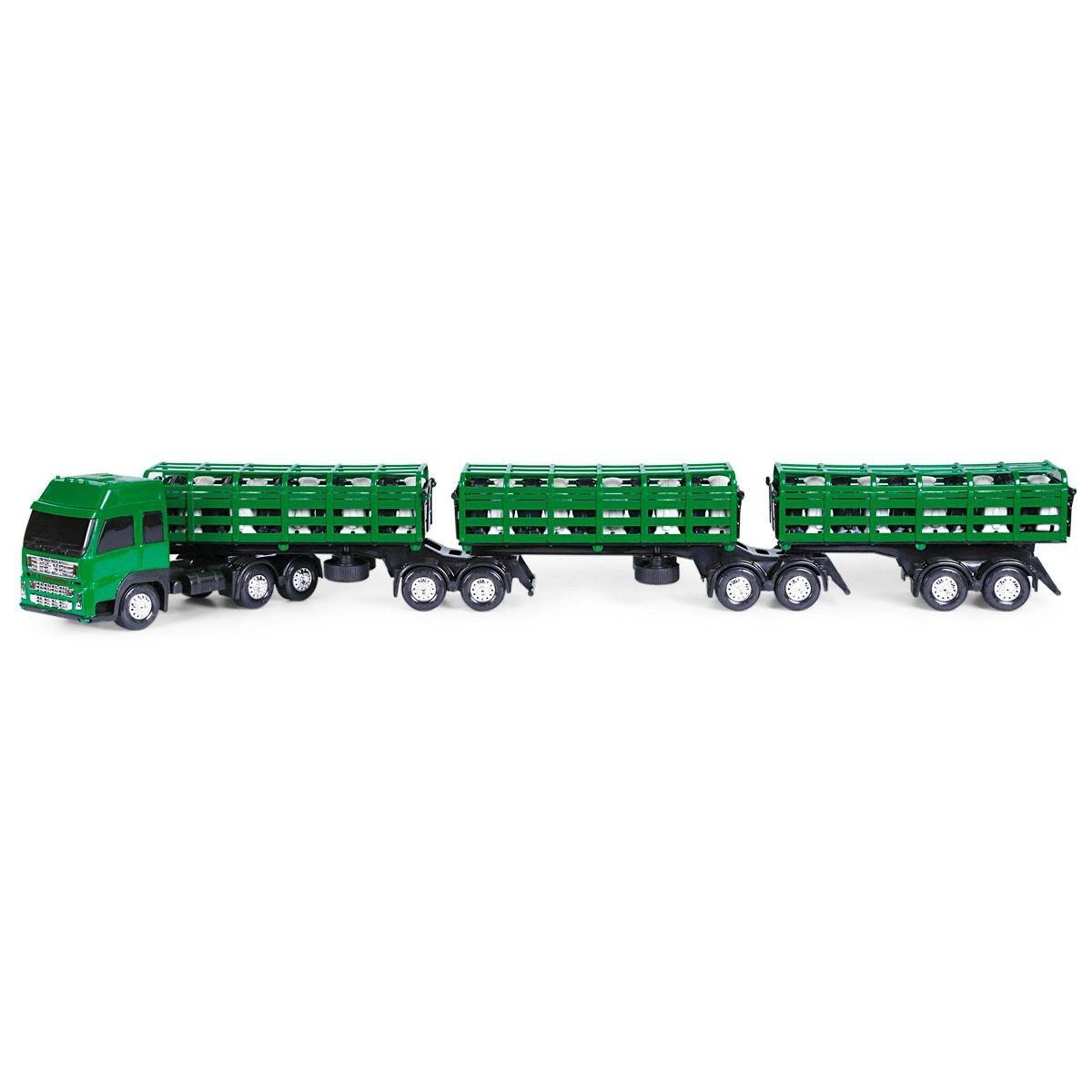 Caminhão Tritrem Boiadeiro Cromax Sortidos - Poliplac
