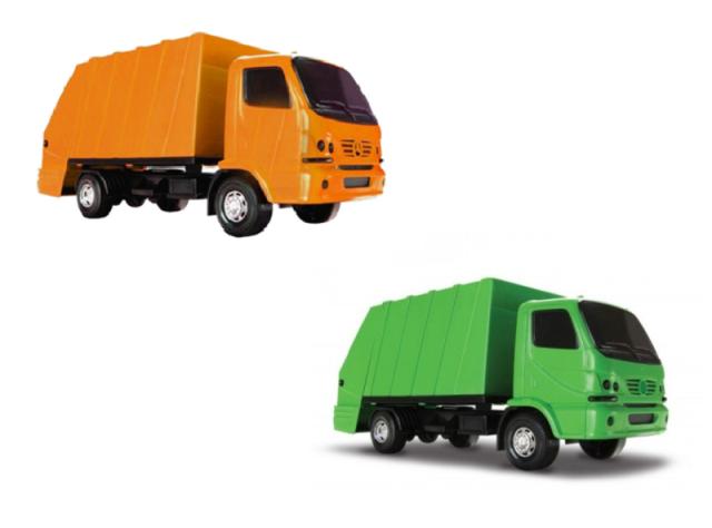 Caminhão Urban Coletor - Roma Brinquedos