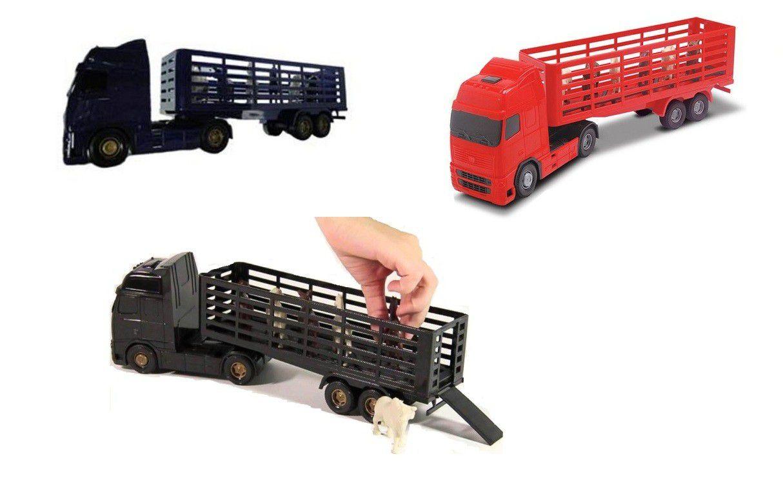 Caminhão Voyager Boiadeiro - Roma Brinquedos