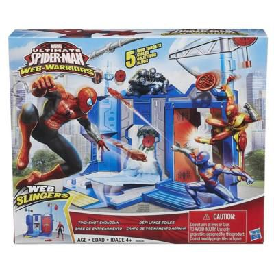 Campo de Treinamento Ultimate Spider Man Web-Warriors - Hasbro