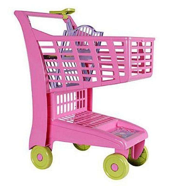 Carrinho de Compra Market Rosa - Magic Toys