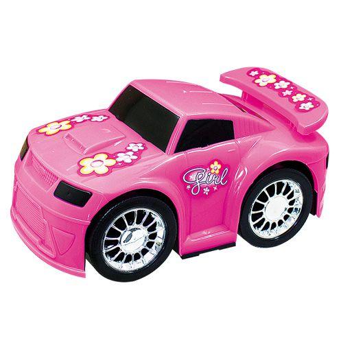 Carro Flash Beauty Girl Rosa - Usual Brinquedos
