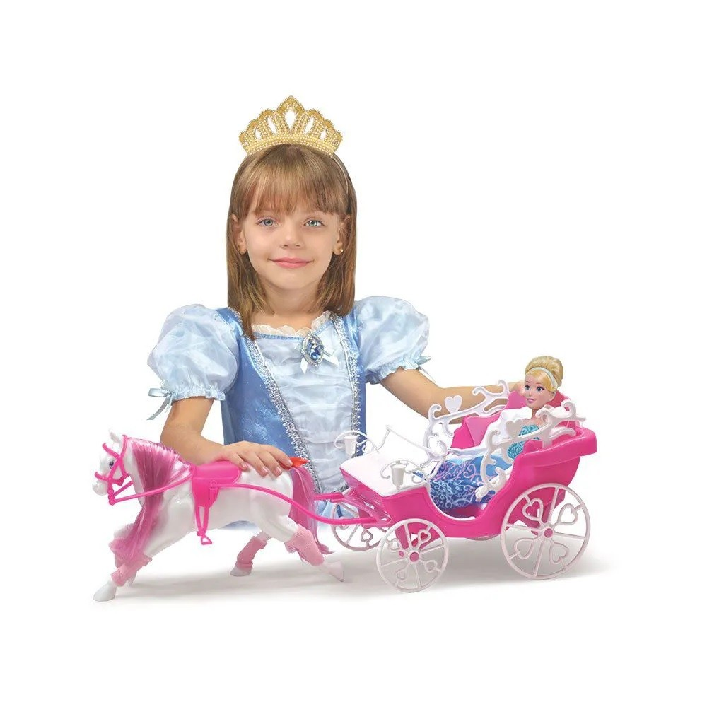 Carruagem Real Sortidas - Lider Brinquedos