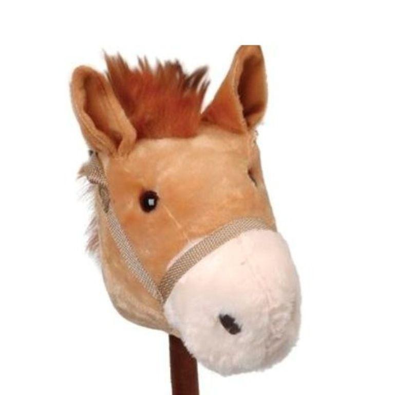 Cavalinho de Pelúcia com Som e Rodas - Lovely Toys