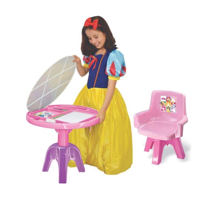 Mesa Centro de Atividades Disney Princesa 3 em 1 - Lider Brinquedos